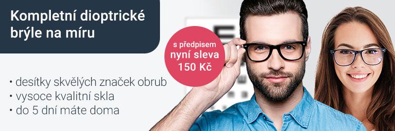 Příspěvek 150 Kč na brýle za předpis