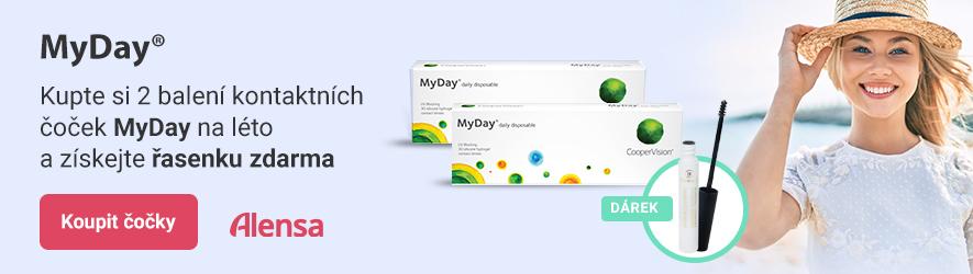 MyDay daily disposable + řasenka
