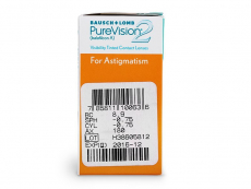 PureVision 2 for Astigmatism (6čoček)