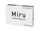 Kontaktní čočky - Miru 1 Month Menicon for Astigmatism