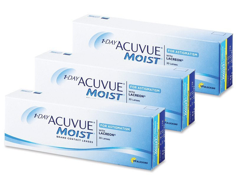 Image of 1 Day Acuvue Moist for Astigmatism (90Linsen)