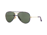 Kontaktní čočky - Ray-Ban AVIATOR FULL COLOR RB3025JM 172