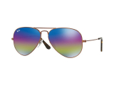 Kontaktní čočky - Ray-Ban AVIATOR LARGE METAL RB3025 9019C2