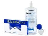 Kontaktní čočky - Frequency 55 (6 čoček)