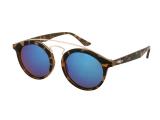 Kontaktní čočky - Dětské sluneční brýle Alensa Panto Havana modré