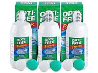 Kontaktní čočky - Roztok OPTI-FREE Express 3x355ml