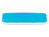 Kontaktní čočky - Pevné pouzdro na jednodenní čočky - modré