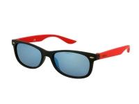 Kontaktní čočky - Dětské sluneční brýle Alensa Sport Black Red Mirror