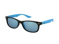 Kontaktní čočky - Dětské sportovní sluneční brýle Alensa černomodré