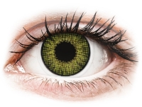 Kontaktní čočky - Air Optix Colors - Gemstone Green - dioptrické