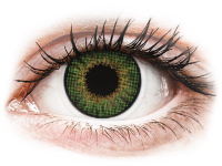 Kontaktní čočky - Air Optix Colors - Green - dioptrické