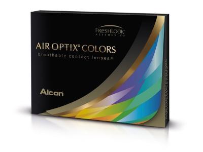 Air Optix Colors - Sterling Gray - dioptrické (2čočky)