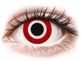 Kontaktní čočky - ColourVUE Crazy Lens - Bulls Eye - nedioptrické