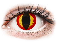 Kontaktní čočky - ColourVUE Crazy Lens - Dragon Eyes - nedioptrické