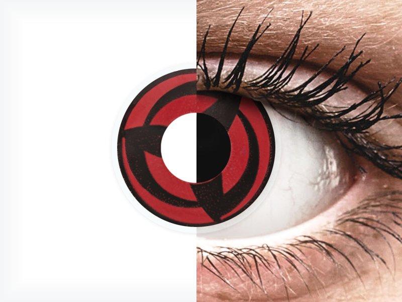 ColourVUE Crazy Lens - Kakashi - nedioptrické (2čočky)