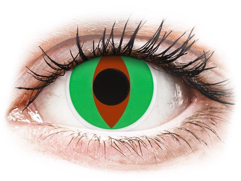 Maxvue Vision ColourVUE Crazy Lens - nedioptrické (2 čočky) Raptor dioptrie 0.00, zakřivení 8.60, průměr 14.00