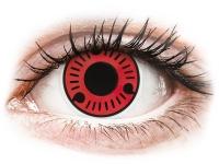 Kontaktní čočky - ColourVUE Crazy Lens - Sasuke - nedioptrické