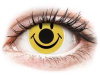 Kontaktní čočky - ColourVUE Crazy Lens - Smiley - nedioptrické
