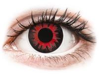 Kontaktní čočky - ColourVUE Crazy Lens - Volturi - nedioptrické