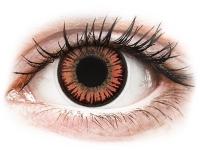 Kontaktní čočky - ColourVUE Crazy Lens - Vampire - nedioptrické