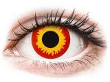 Kontaktní čočky - ColourVUE Crazy Lens - Wildfire - nedioptrické