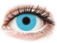 Kontaktní čočky - ColourVUE Crazy Glow Blue - nedioptrické