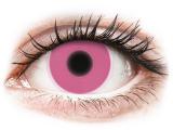 Kontaktní čočky - ColourVUE Crazy Glow Pink - nedioptrické