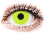 Kontaktní čočky - ColourVUE Crazy Glow Yellow - nedioptrické