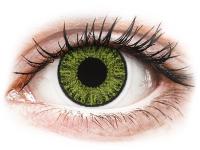Kontaktní čočky - TopVue Color - Fresh green - dioptrické jednodenní