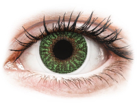 Kontaktní čočky - TopVue Color - Green - dioptrické