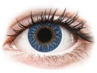 Kontaktní čočky - TopVue Color - True Sapphire - nedioptrické