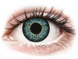 Kontaktní čočky - ColourVUE Glamour Aqua - dioptrické