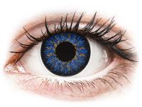 Kontaktní čočky - ColourVUE Glamour Blue - dioptrické