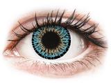 Kontaktní čočky - ColourVUE Elegance Aqua - nedioptrické