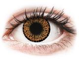 Kontaktní čočky - ColourVUE Elegance Brown - nedioptrické