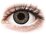 Kontaktní čočky - ColourVUE Elegance Grey - nedioptrické