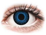 Kontaktní čočky - ColourVUE Eyelush Aqua - nedioptrické