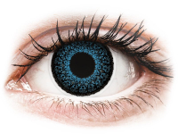 Kontaktní čočky - ColourVUE Eyelush Blue - dioptrické