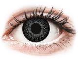 Kontaktní čočky - ColourVUE Eyelush Grey - dioptrické