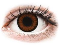 Kontaktní čočky - ColourVUE BigEyes Pretty Hazel - dioptrické