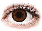 Kontaktní čočky - ColourVUE BigEyes Pretty Hazel - nedioptrické
