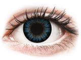 Kontaktní čočky - ColourVUE BigEyes Cool Blue - dioptrické