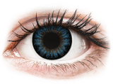 Kontaktní čočky - ColourVUE BigEyes Cool Blue - nedioptrické