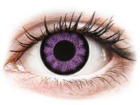 Kontaktní čočky - ColourVUE BigEyes Ultra Violet - nedioptrické