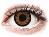 Kontaktní čočky - ColourVUE BigEyes Sexy Brown - dioptrické