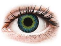 Kontaktní čočky - ColourVUE Fusion Yellow Blue - dioptrické