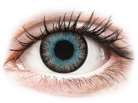 Kontaktní čočky - ColourVUE Fusion Blue Gray - nedioptrické