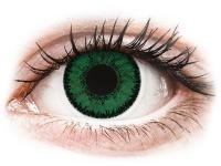 Kontaktní čočky - SofLens Natural Colors Emerald - dioptrické