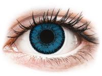 Kontaktní čočky - SofLens Natural Colors Topaz - nedioptrické