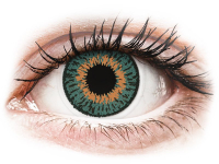 Kontaktní čočky - Expressions Colors Aqua - nedioptrické